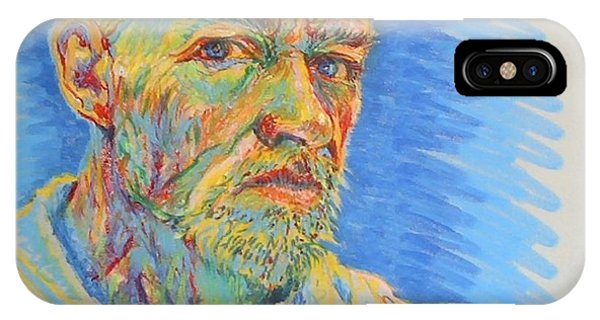 Portrait Of The Artist IPhone Case