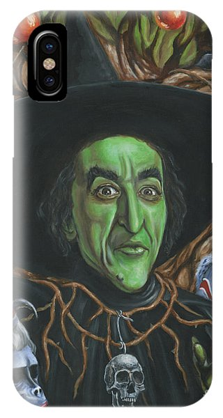Portrait Of Wickedness IPhone Case
