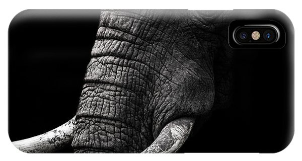 Dark iPhone Case - Portrait by Wildphotoart