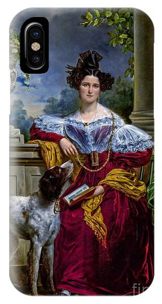 iPhone Case - Portret Van Alida Christina Assink 1833 by Viktor Birkus