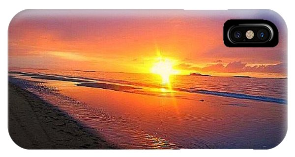 Portrush Sunset IPhone Case