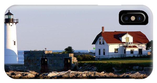 Portsmouth Harbor Light IPhone Case