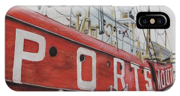Portsmouth Lightship IPhone Case
