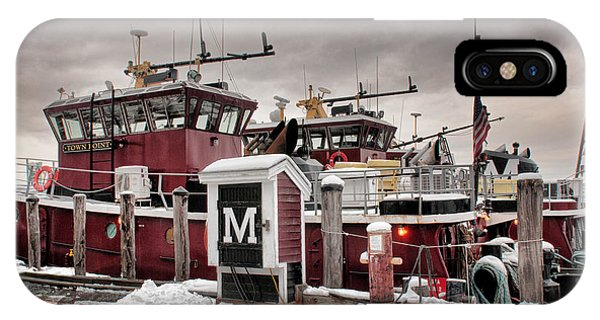 Portsmouth Tugboats IPhone Case