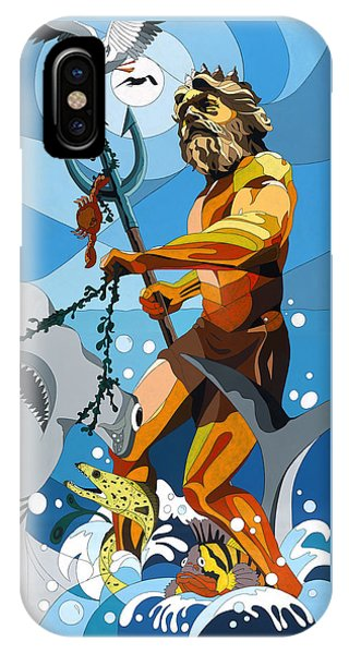 Poseidon - W/hidden Pictures IPhone Case