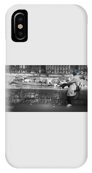 IPhone Case featuring the photograph Positive Meditation On The River by Stwayne Keubrick