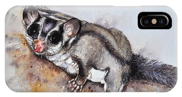 Possum Cute Sugar Glider IPhone Case
