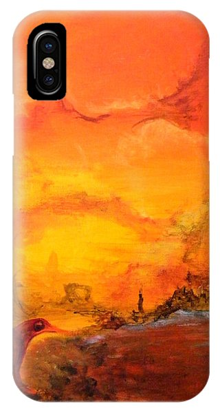 Post Nuclear Watering Hole IPhone Case
