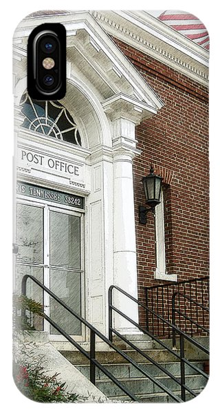 Post Office 38242 IPhone Case