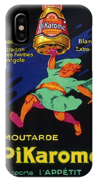 Mustard iPhone Case - Poster For La Moutarde  Pikarome, Which by Mary Evans Picture Library