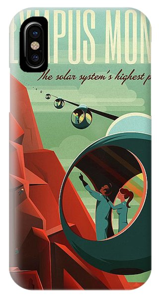 Astrophysical iPhone Case - Poster For Tours Of Olympus Mons by Nasa/science Photo Library