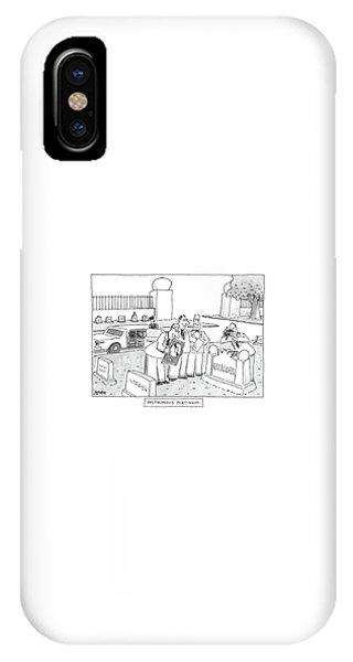 Posthumous Platinum IPhone Case