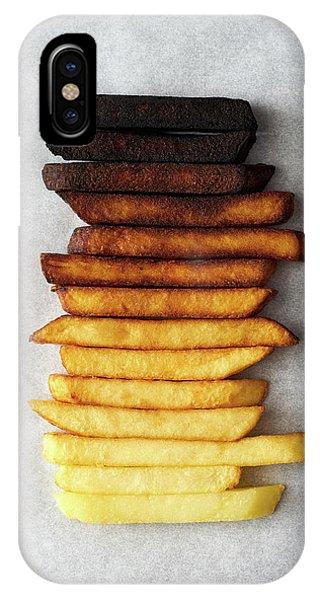 French iPhone Case - Potato Gradient by Aleksandrova Karina