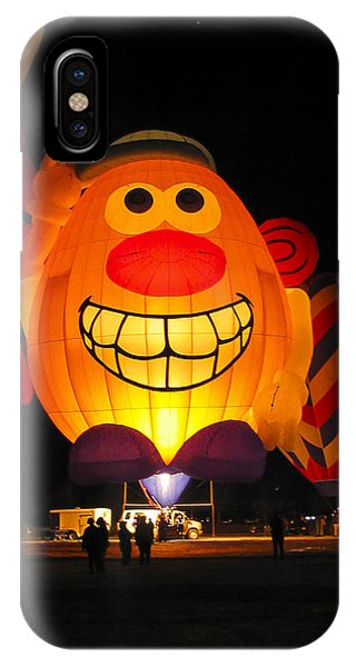 Potato Head Balloon Glow IPhone Case