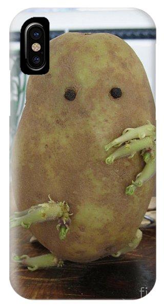 Potato Man IPhone Case