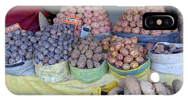 Potato Rainbow IPhone Case