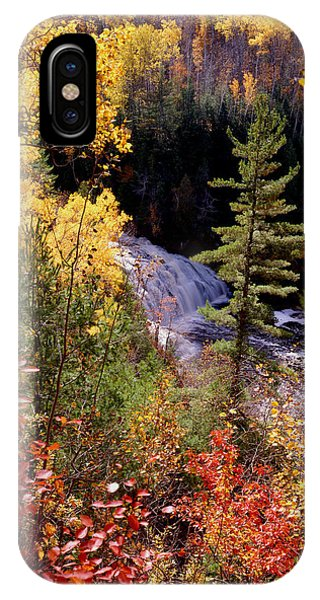 Potato River Lower Falls Phone Case by Tim Hawkins