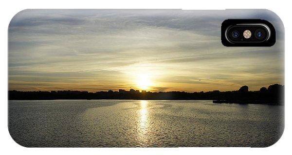 Potomac Sunset IPhone Case