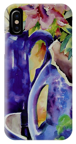 Pottery And Flowers IPhone Case