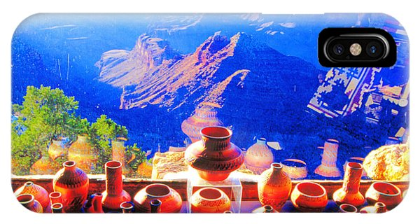Pottery Display Grand Canyon IPhone Case