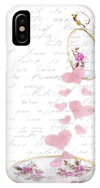 Pouring My Heart Out IPhone Case