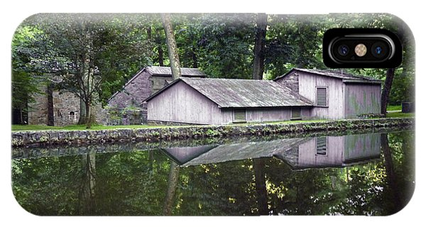 Powder Yard And Mill Race. Hagley Museum. IPhone Case