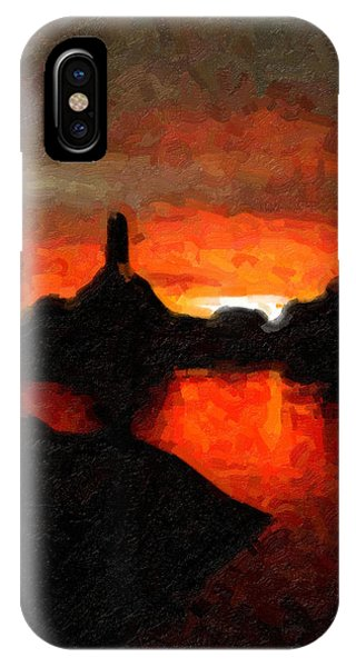 Powell Sunset IPhone Case