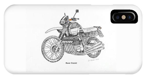 Power Crosser IPhone Case