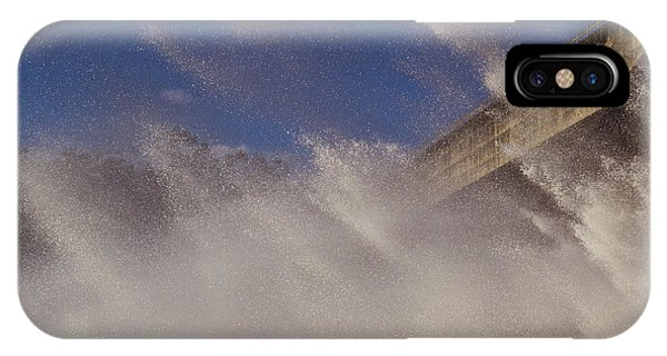 Power Of Water Phone Case by Debbie Cundy