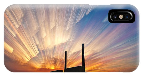 Power Plant IPhone Case