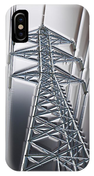 Power Station - Cool Optimized For Metallic Paper IPhone Case