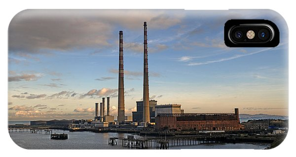 Power Station IPhone Case