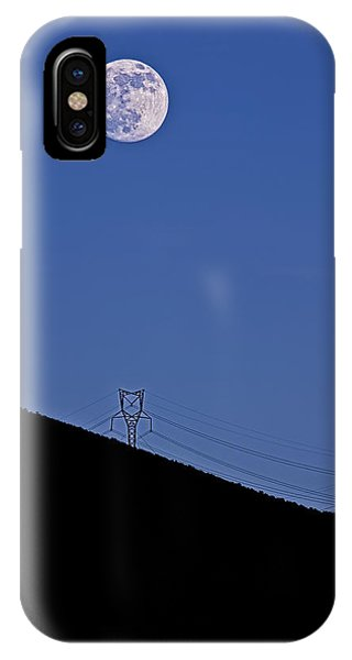 iPhone Case - Powered By Moonlight by Nancy Marie Ricketts