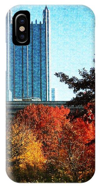 Ppg In Autumn IPhone Case