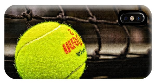Practice - Tennis Ball By William Patrick And Sharon Cummings IPhone Case