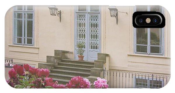 Prague Gardens IPhone Case