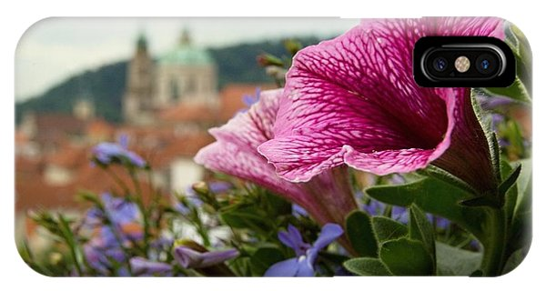 Prague In Bloom Vi - Summer Edition IPhone Case