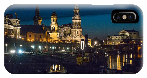Dresden In Evening IPhone Case
