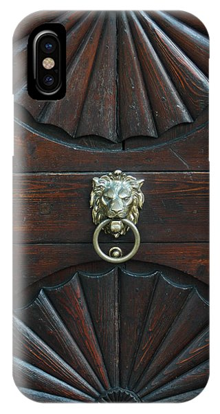 IPhone Case featuring the photograph Prague Knocker by Michael Kirk