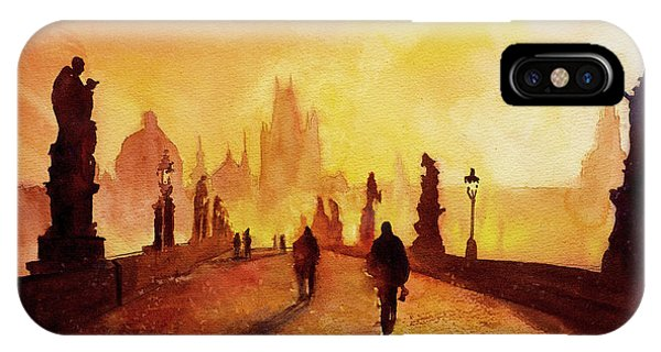 Prague Sunrise IPhone Case
