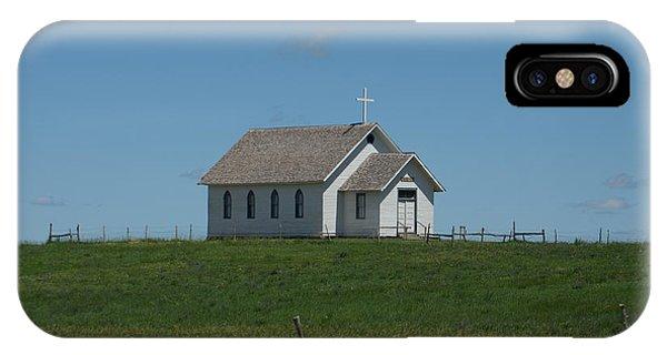 Prairie Church IPhone Case