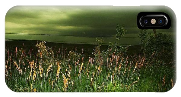 Prairie Clouds IPhone Case