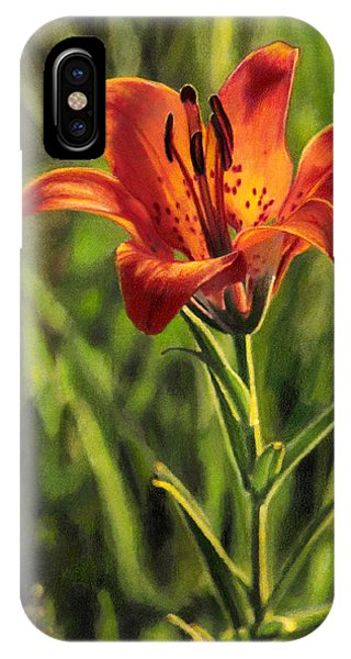 Prairie Lily IPhone Case