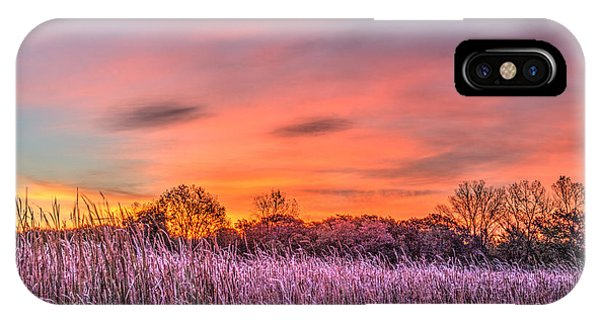 Moraine Hills State Park Moments Before Sunrise IPhone Case