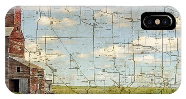 Prairie Panorama Phone Case by Judy Wood