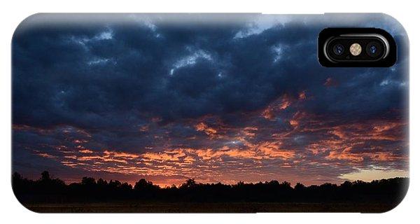 Prairie Sunrise IPhone Case