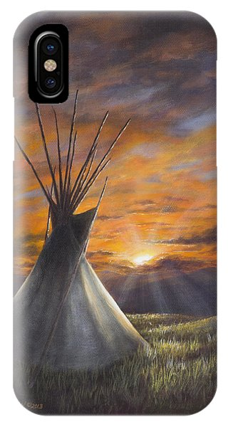 Prairie Sunset IPhone Case