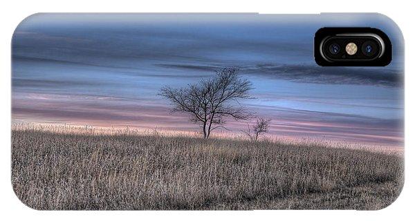 Prairie Sunset North Dakota 1 IPhone Case