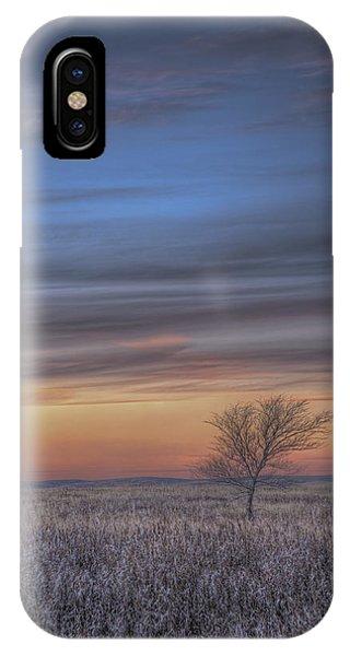 Prairie Sunset North Dakota 2 IPhone Case