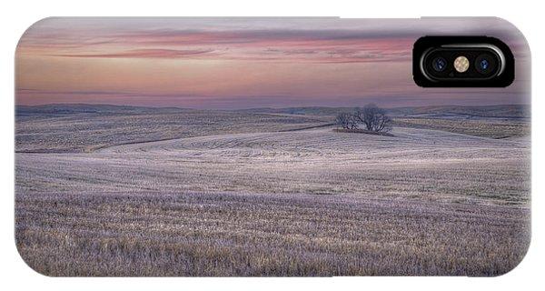 Prairie Sunset North Dakota 3 IPhone Case